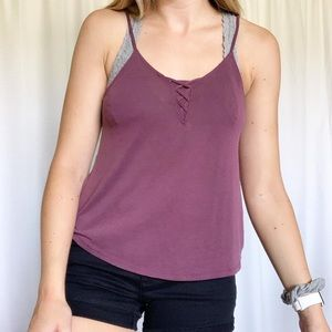 American Eagle Sueded Tank Top